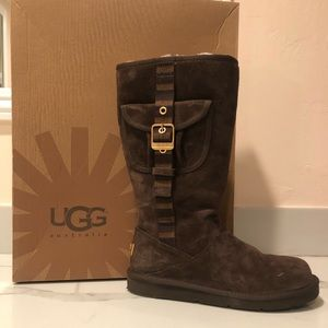 Retro Cargo Tall Sheepskin Boots UGG